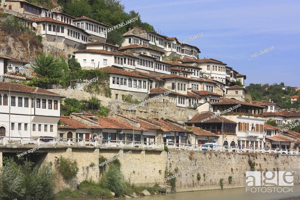Stock Photo: Berat, Albania.