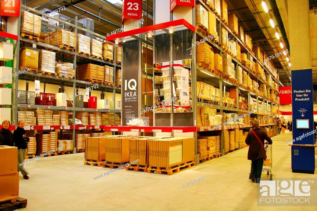 Stock Photo: Ikea store. Spreitenbach. Switzerland.