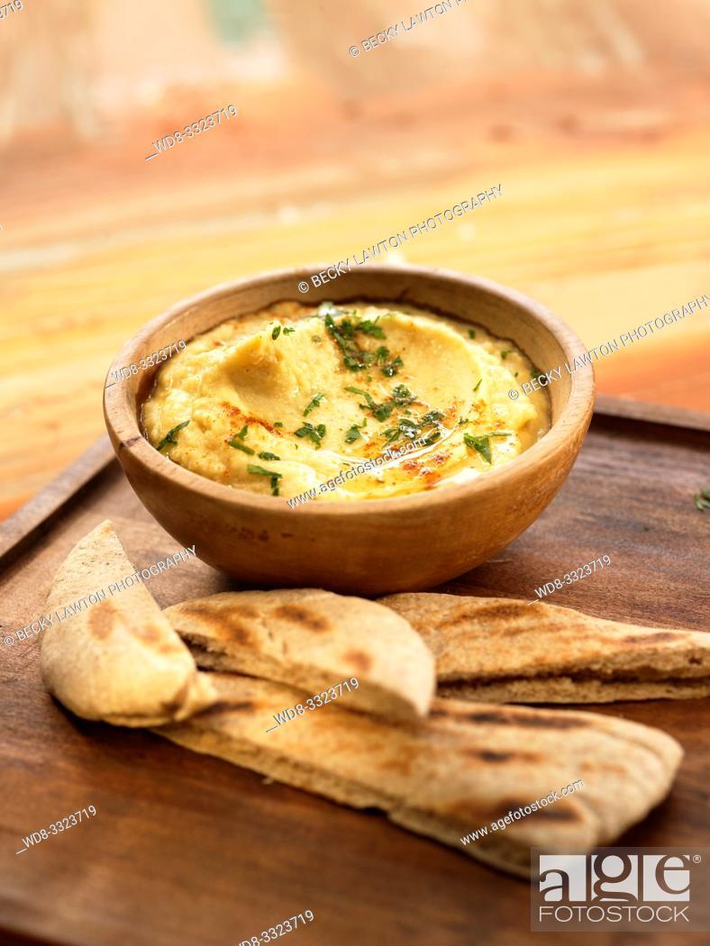 Stock Photo: humus.
