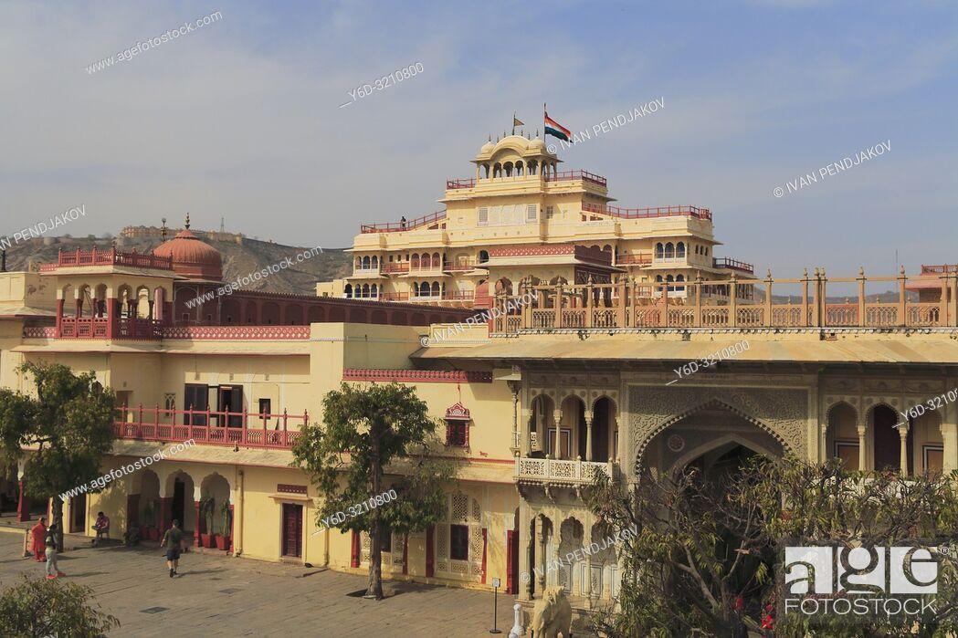Imagen: City Palace, Jaipur, Rajasthan, India.