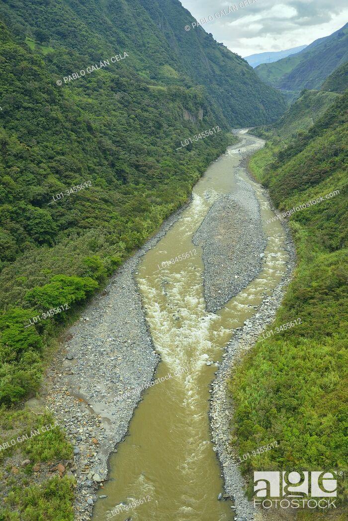 Imagen: Río Pastaza. Parque Nacional Llanganates. Ecuador.