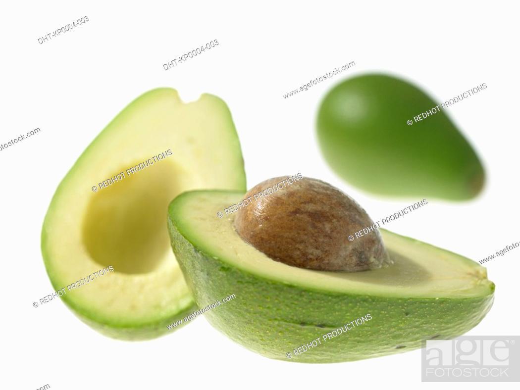 Stock Photo: Raw Food, Salads, Avocado.