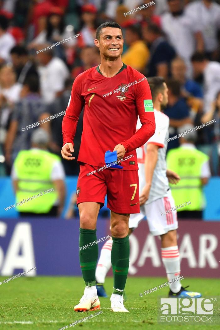 4ef0e1aac79d59 Stock Photo - Cristiano RONALDO (POR), laughs, laughs, laughsd, optimistic,  cheerful, action, individual action, single image, cut out, full body, ...
