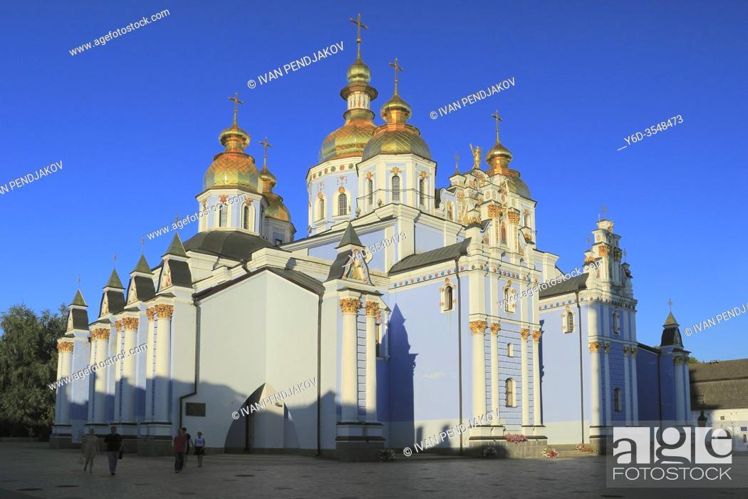 Imagen: St Michael Golden-Domed Monastery, Kiev, Ukraine.