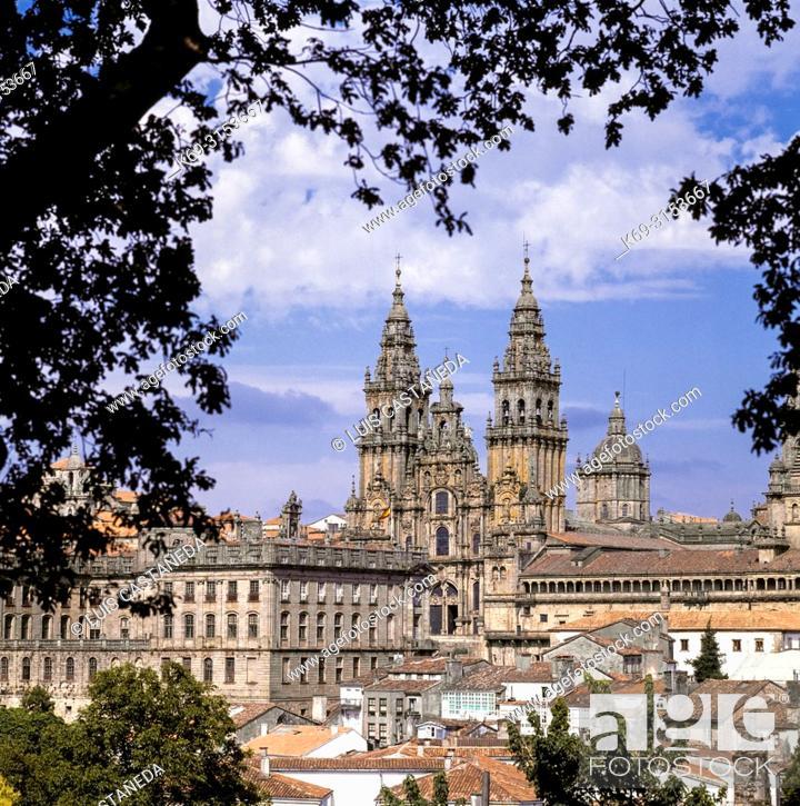 Stock Photo: Santiago de Compostela. Galicia. Spain.