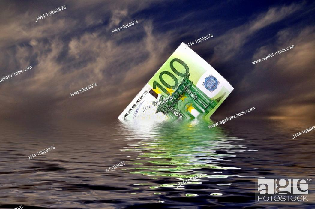 Finances Euro Stock Exchange Crisis Savings Money
