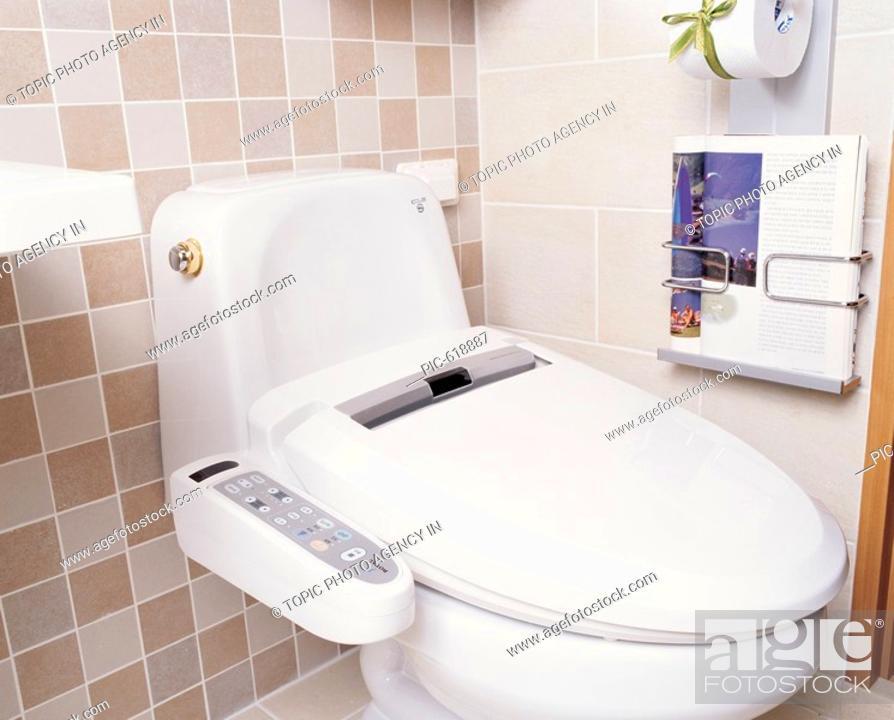 Stock Photo: Interior Of Bathroom.