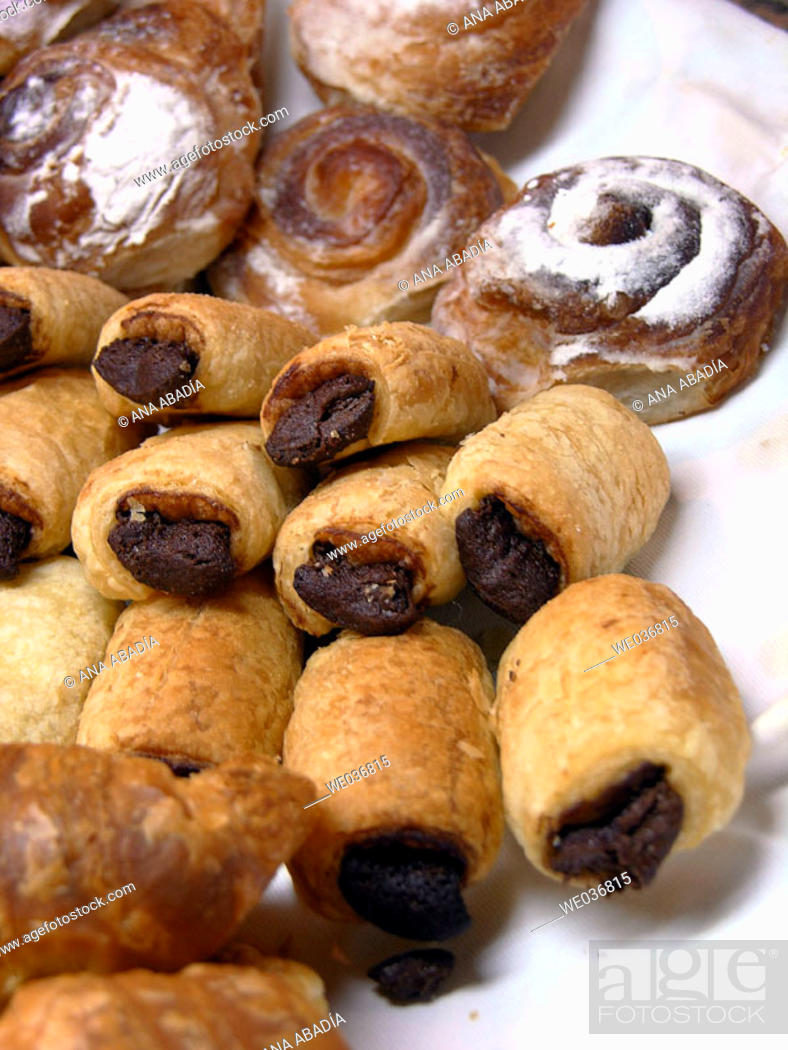 Stock Photo: Pastries.