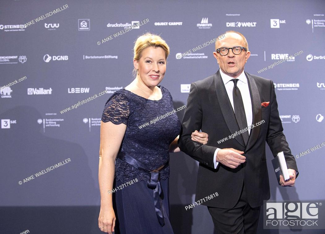 Dr Franziska Giffey Germany Spd Federal Minister Of Family Affairs With Stefan Schulze Hausmann Stock Photo Picture And Rights Managed Image Pic Pah 127176818 Agefotostock