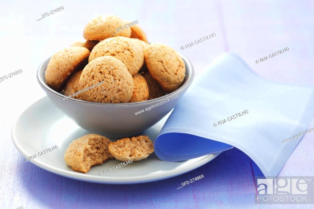 Stock Photo: Koulourakia Greek Easter biscuits.