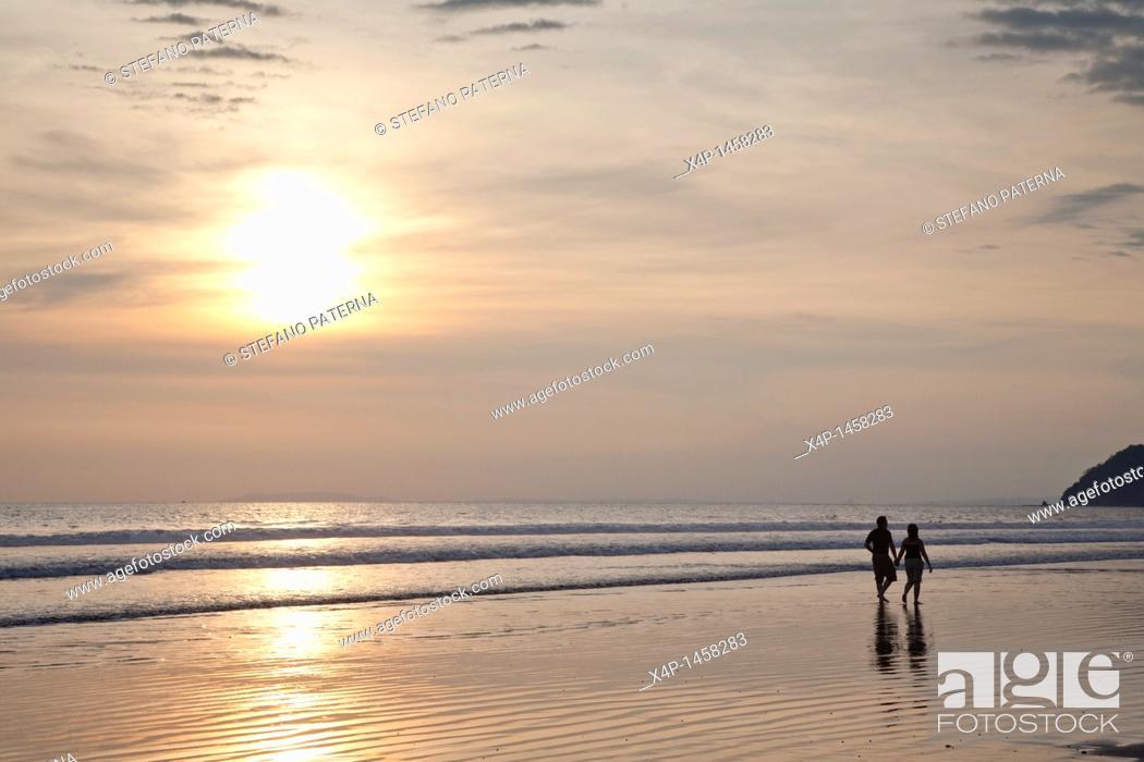 Stock Photo: Jaco, Costa Rica  Central Pacific Coast.