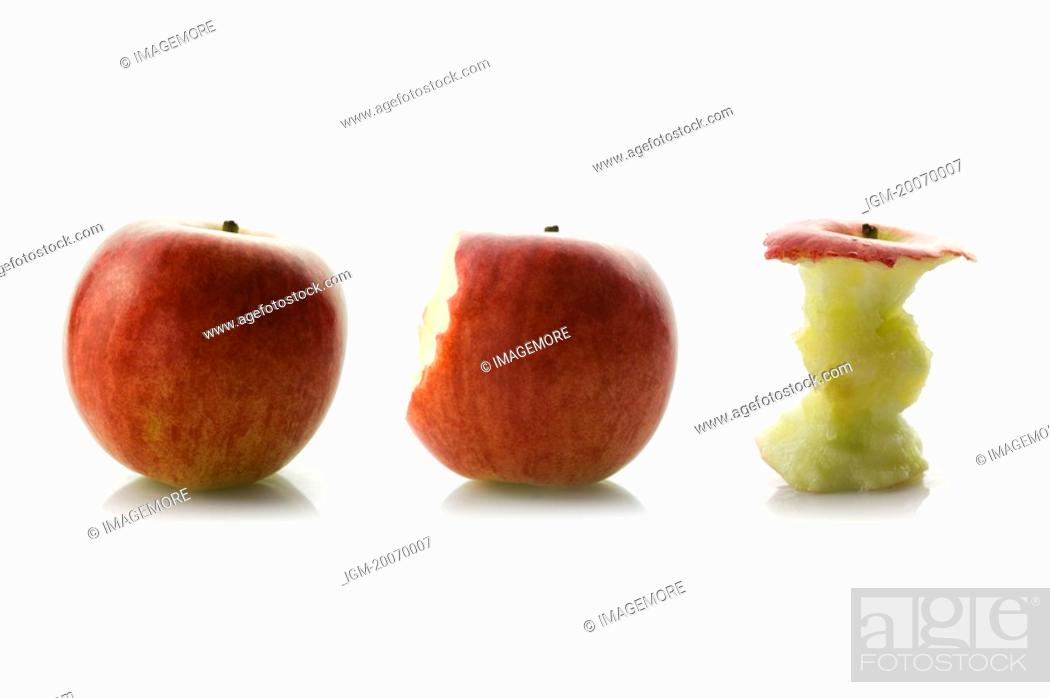 Stock Photo: Apple.