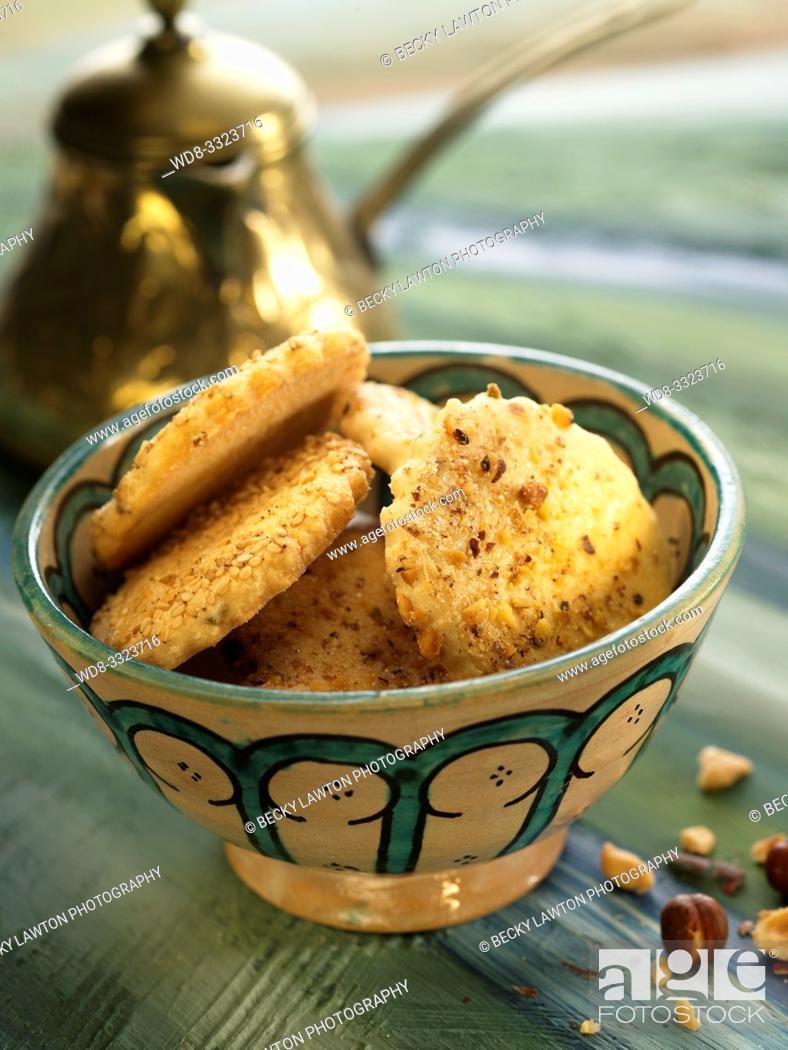 Imagen: galletas de avellanas.