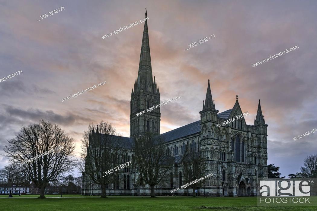 Stock Photo: Salisbury, Wiltshire, England, UK.