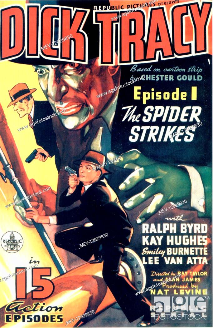 Dick Tracy 1937 vintage movie poster