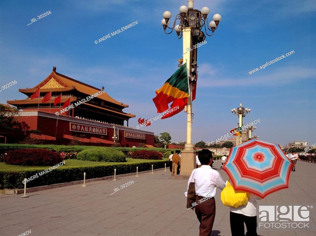 Stock Photo: Tiananmen square, Beijing, China.