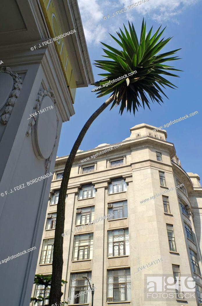 Stock Photo: Moyua Square  Bilbao, Basque Country  Spain.