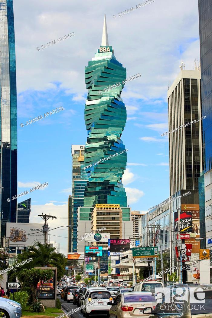 Imagen: 50th Street, Panama City, Panama, Republic of Panama, Central America.