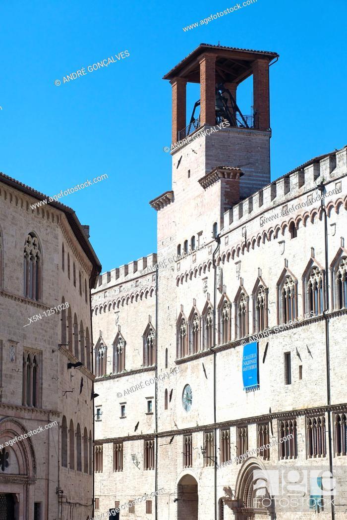 Stock Photo: Perugia, Italy.