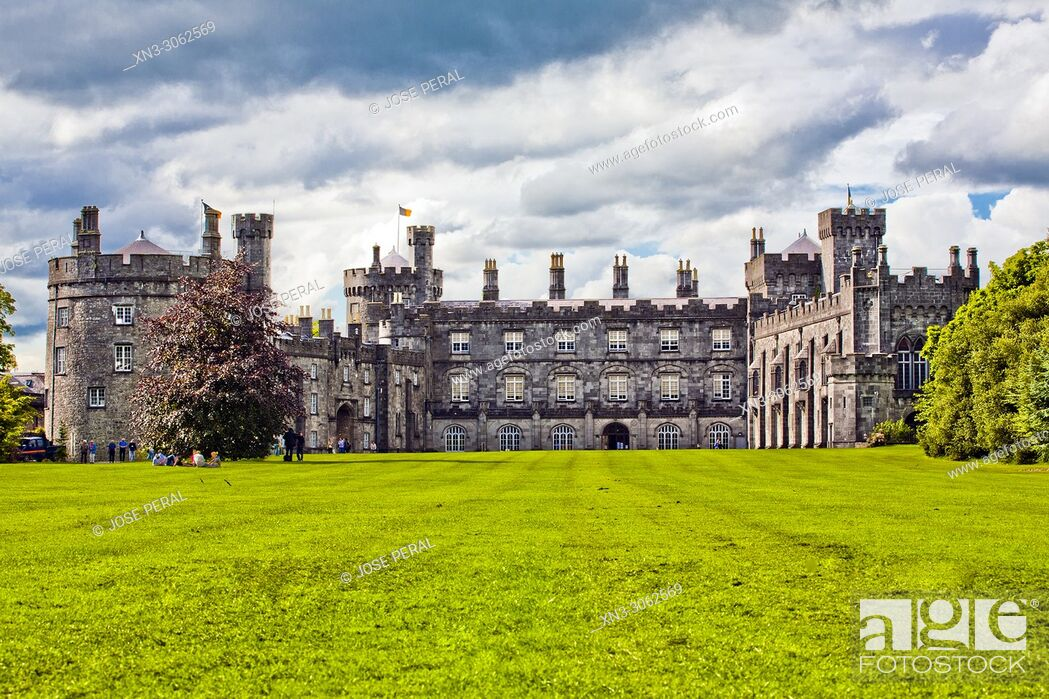 Imagen: Kilkenny Castle, Kilkenny town, County Kilkenny, province of Leinster, Ireland, Europe.