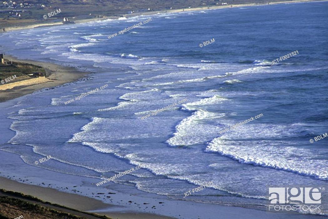 Stock Photo: Channel Islands, Jersey, St Ouen, beach.