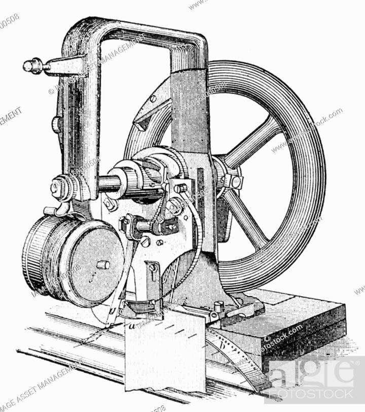 First Lockstitch Sewing Machine Constructed By Elias Howe 4040 Inspiration Inventor Sewing Machine