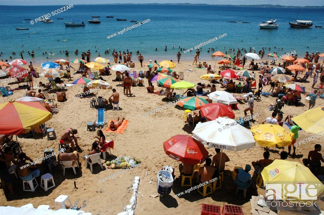 Stock Photo: Salvador de Bahia, Bahia, Brazil, Praia da Barra.