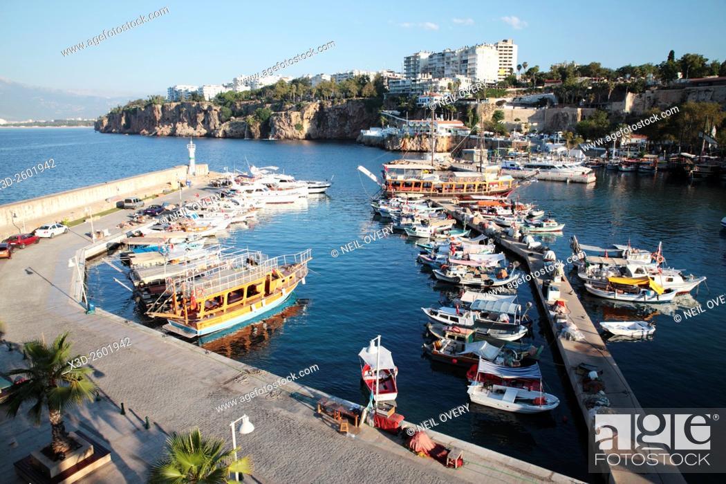 Stock Photo: Kaleici Harbour, Antalya, Turkey.