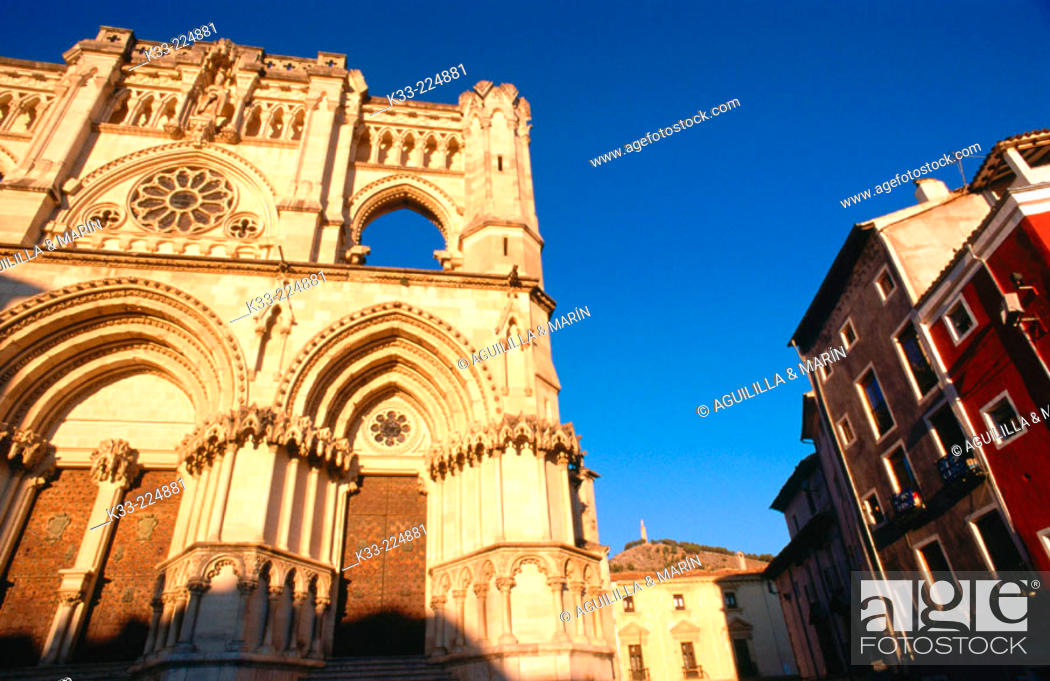 Stock Photo: Cathedral. Cuenca. Spain.