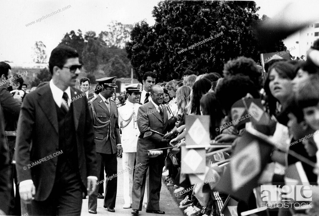 Imagen: Nov. 3, 1979 - Rio de Janeiro, Brazil - JOAO FIGUEIREDO (January 15, 1918 - December 24, 1999) was a military leader and politician who served as President of.