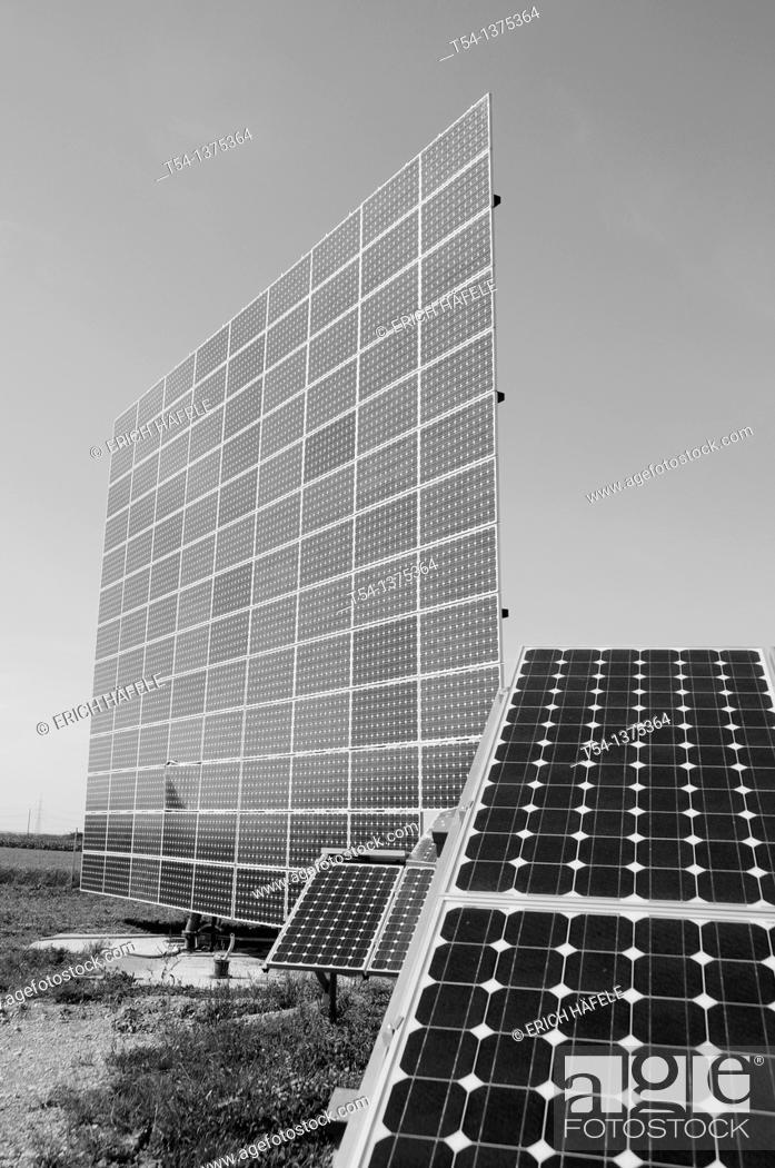 Stock Photo: Solar Power Station in Germany.