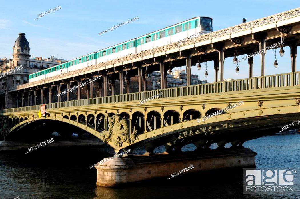The Pont De Bir Hakeim Formerly The Pont De Passy Is A