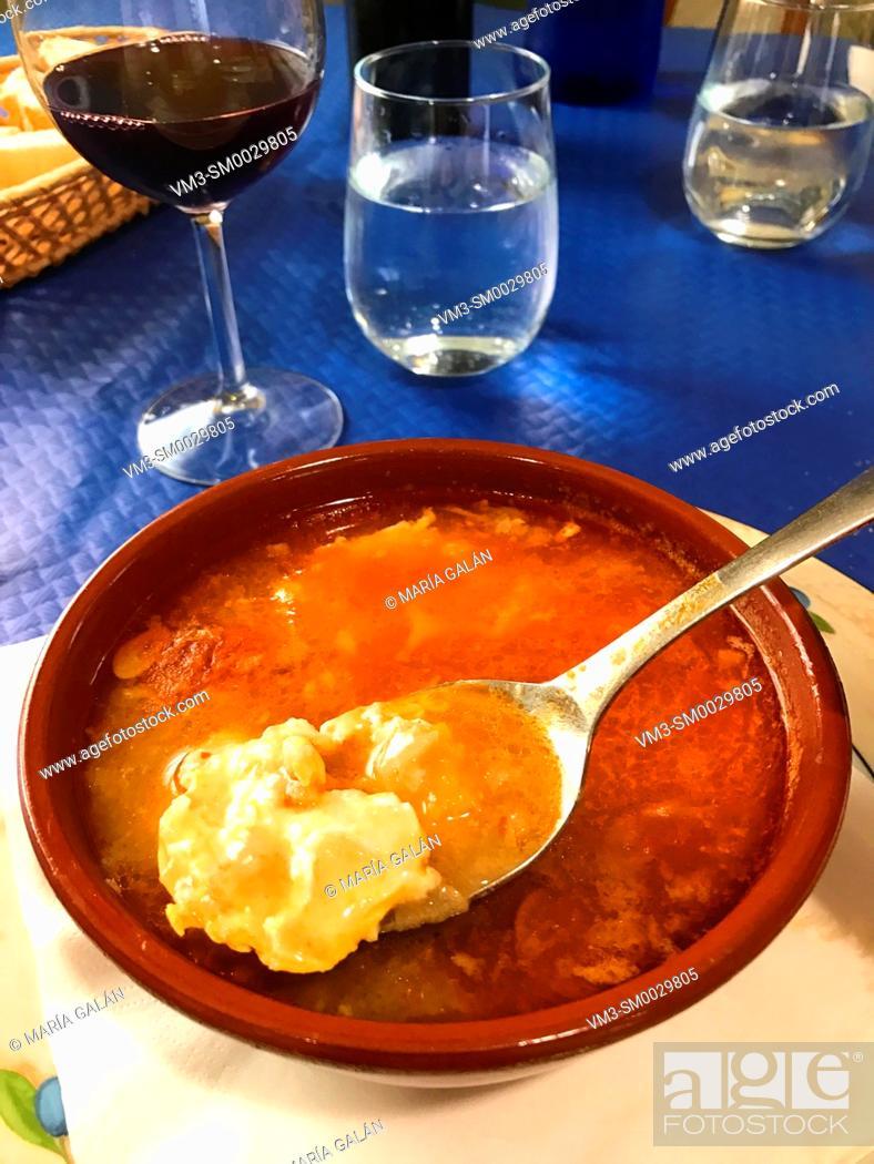 Imagen: Castilian soup. Spain.