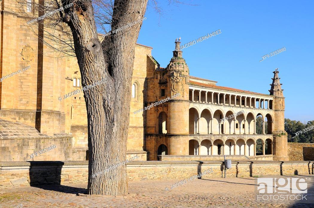 Stock Photo: Conventual de San Benito. Alcántara. Cáceres province. Extremadura. Spain.