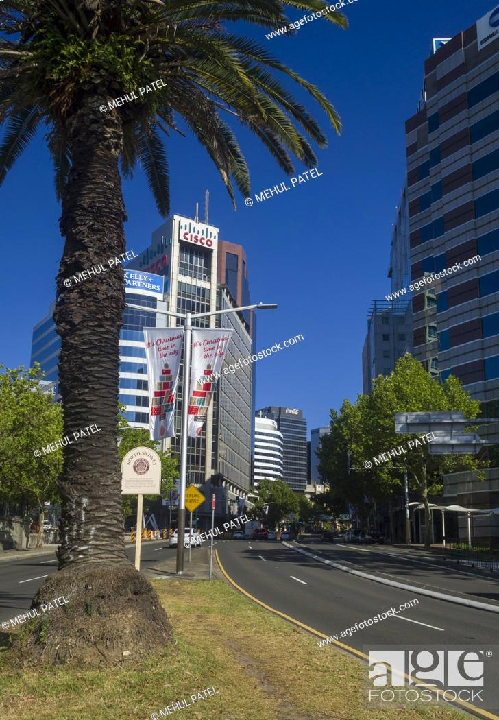 Stock Photo: Central Business District of North Sydney, New South Wales, Australia.