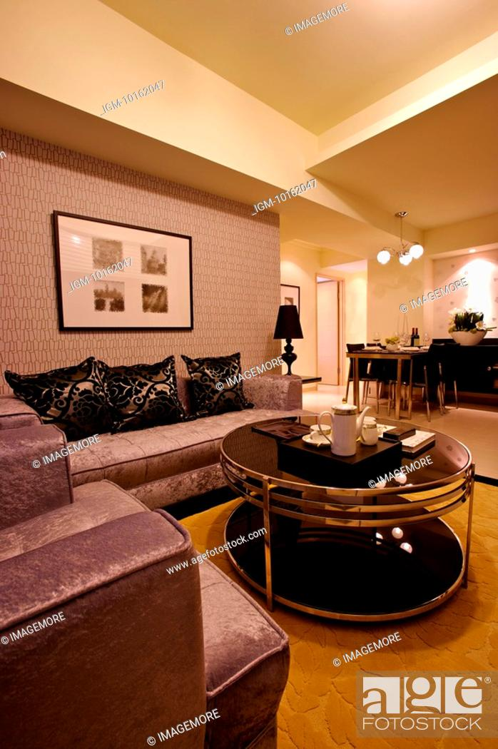 Photo de stock: Modern Interior Design - Living Room.
