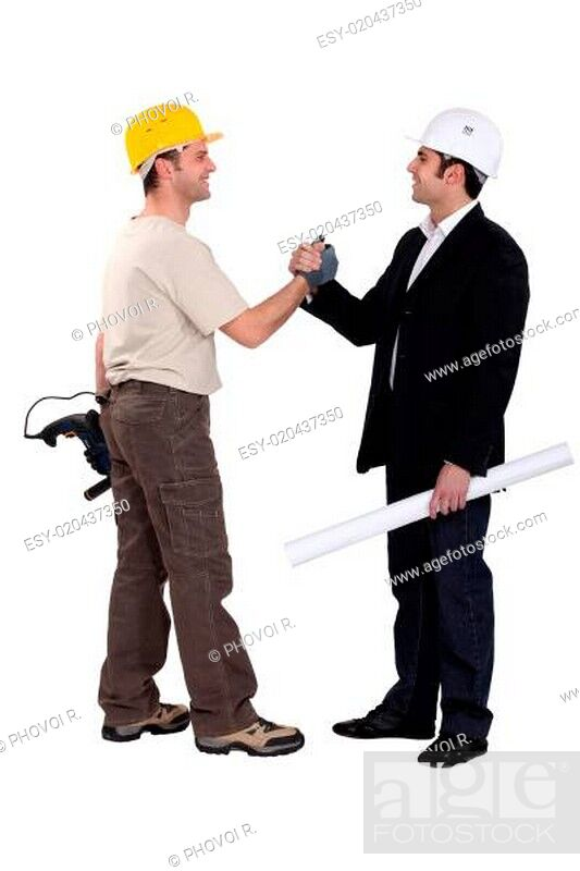 Stock Photo: Successful teamwork.