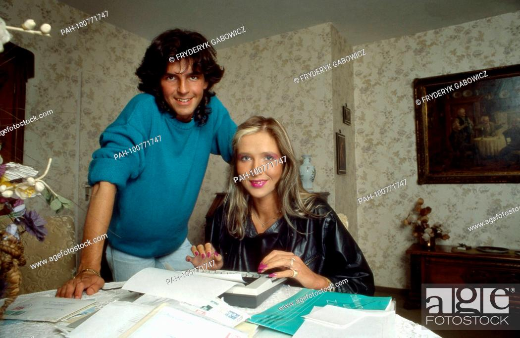 Thomas Anders Sanger Der Band Modern Talking Mit Freundin Nora Balling In Koblenz Stock Photo Picture And Rights Managed Image Pic Pah 100771747 Agefotostock
