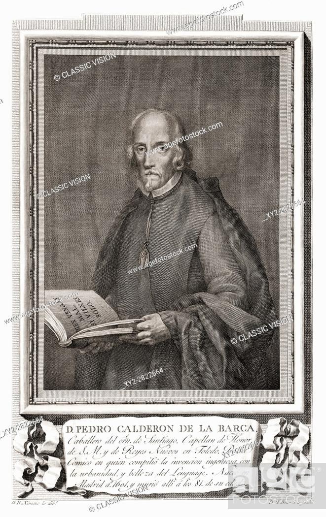 Pedro Calderón De La Barca Y Barreda González De Henao Ruiz De