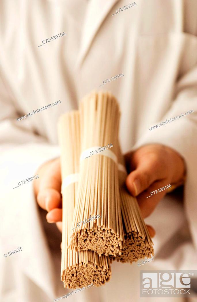 Stock Photo: Food, Somen, Noodles.