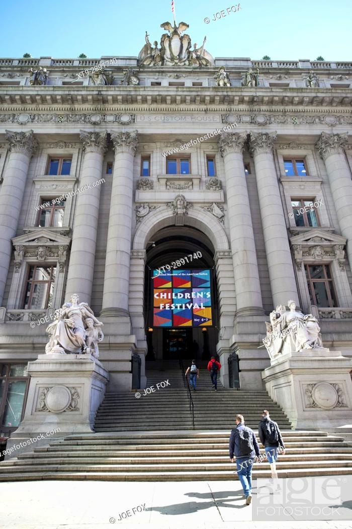 Imagen: National museum of the american indian alexander hamilton custom house New York City USA.