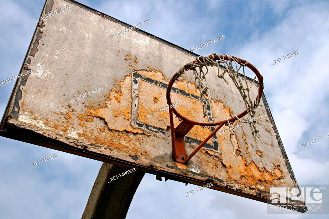 Stock Photo: basketball, Tiana, Catalonia, Spain.