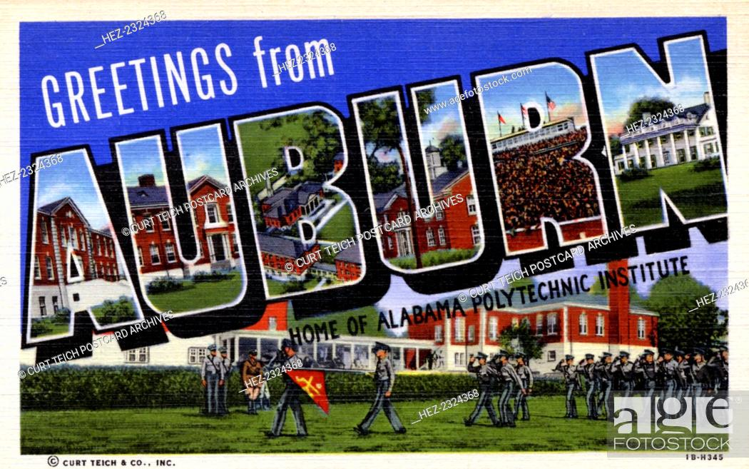 Greetings from Auburn, home of Alabama Polytechnic Institute
