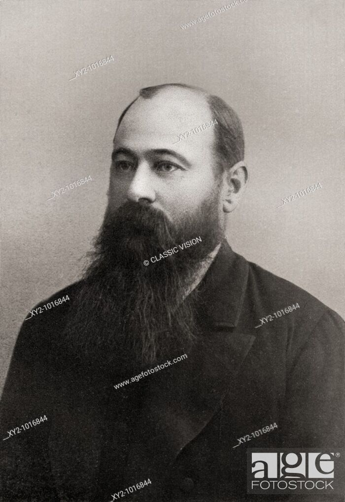Stock Photo: Martinus or Marthinus Theunis Steyn 1857 to 1916  South African lawyer, politician, statesman and sixth and last president of the independent Orange Free State.