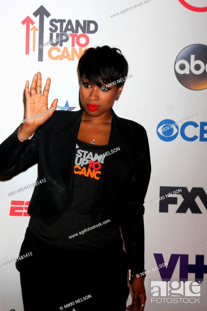 a347cb6ea72 Stock Photo - Stand Up 2 Cancer Telecast Arrivals 2014 Featuring  Jennifer  Hudson Where  Los Angeles