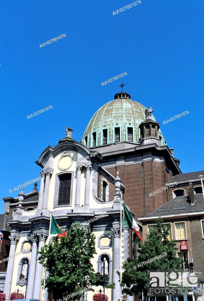 Stock Photo: Belgium - Wallonia - Charleroi - City Hall.