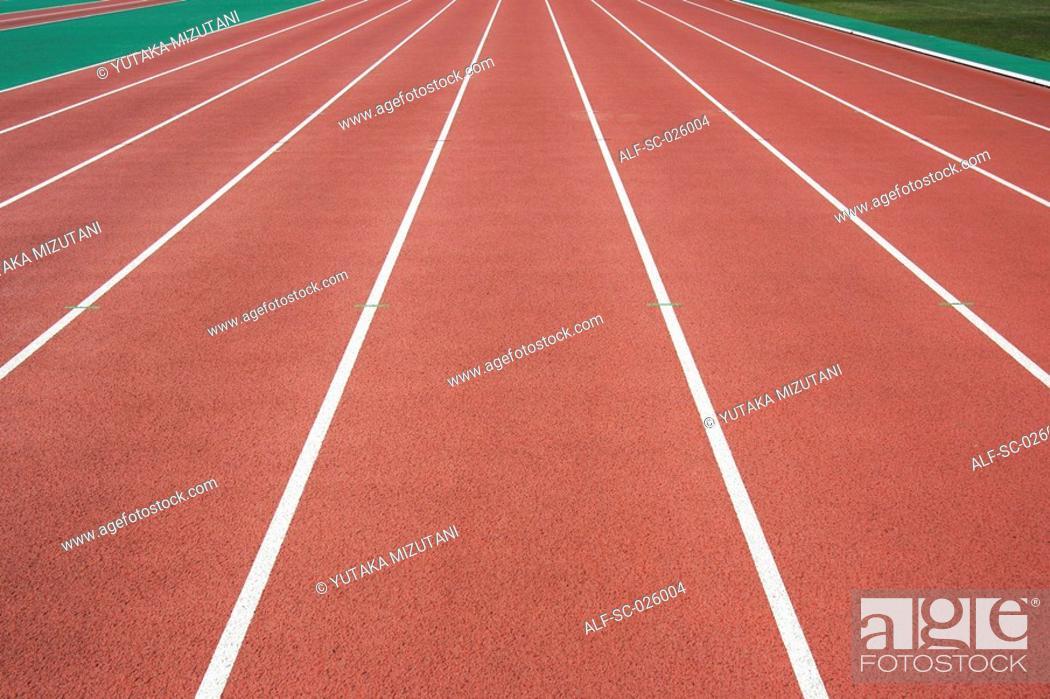Stock Photo: Running Track.