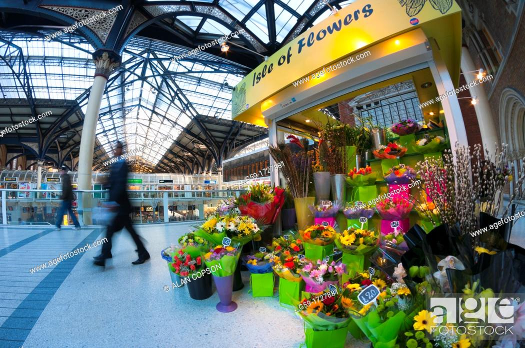 Imagen: UK, England, London, Liverpool Street Station.