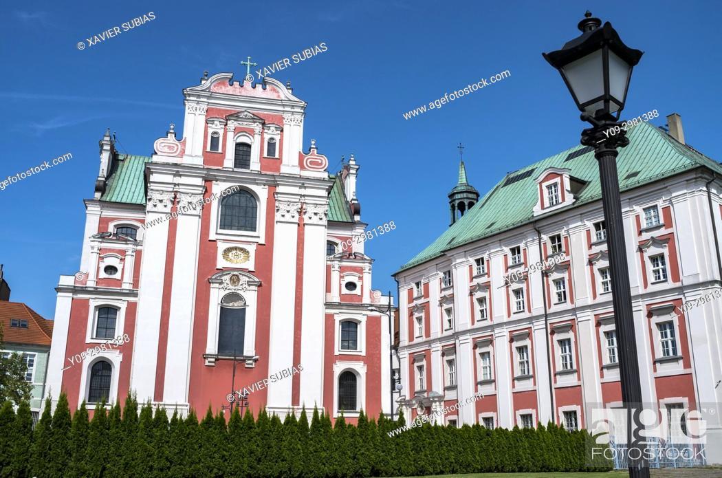 Imagen: Jesuit Parish Church, City of Poznan, Jesuit College, Poznan, Poland.