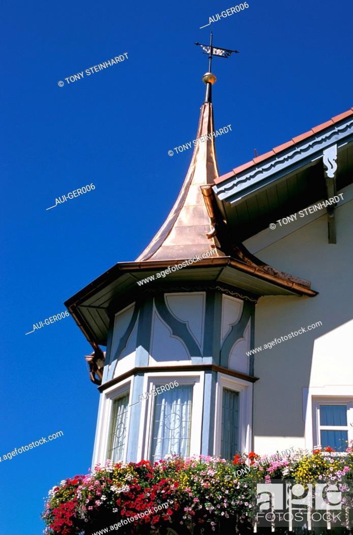 Stock Photo: Germany - Bavaria - Oberammergau.
